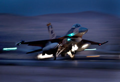 Take off (Official U.S. Air Force) Tags: nev oct30 anairforcef16fightingfalconaircrafttakesoffforamissi 2012theaircrfatisassignedtothe65thaggressorsquadron