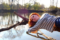 (Hayley Stein) Tags: lensflare redhair