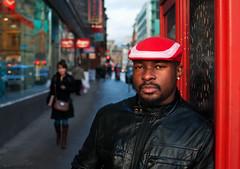 Guelord (Charles S Hamilton) Tags: street november red portrait people urban face 35mm glasgow streetportrait citycentre shopper urbanscene stockwellstreet nikond90 glasgowstreetphotography glasgowcharacter
