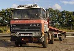 Ex Spence Haulage DAF2500 at Wooler Oct 2012 (gylesnikki) Tags: truck scotland scottish artic spence shunter spencehaulage g62psh