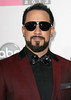 A.J. McLean of Backstreet Boys