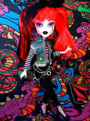 Scaris' Next Top Ghoul! Audition - 'Nessa Feratu (alexbabs1) Tags: monster high model dolls top competition next girlz ghoul ghoulish bntm dntm scaris clawdeena9 mhntm