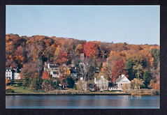 Cold Spring Harbor, Autumn 1999 - Photographed by James D. Watson (CSHL Archives) Tags: cshl