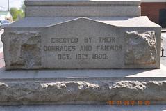 Confederate Soldier Memorial Orange, Va 04 (Talusss) Tags: memorial war military confederate civilwar warmemorial militaryhistory confederatememorial