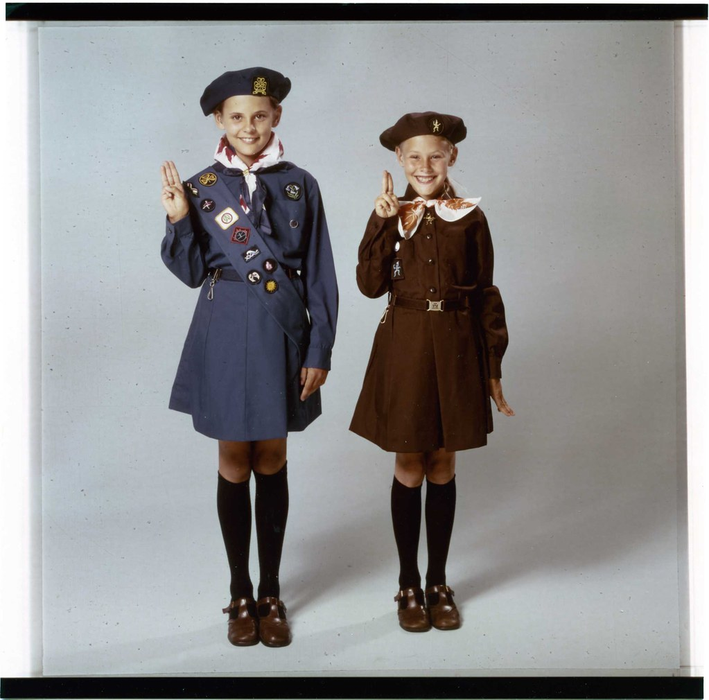 1990 girl guide uniform.