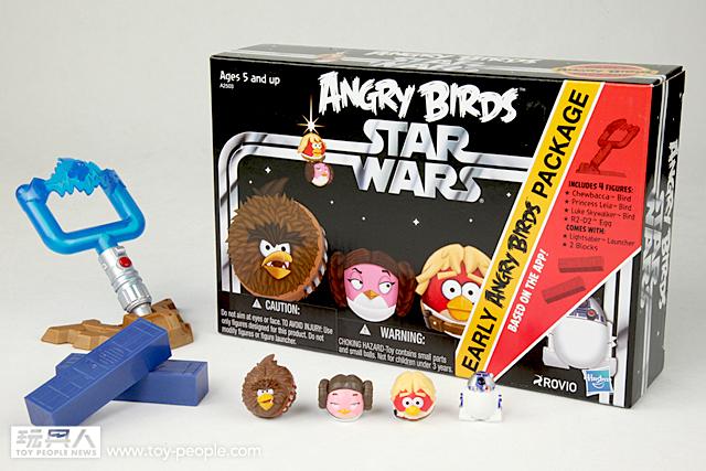 孩之寶『憤怒鳥:星際大戰』第一波系列商品開箱報告