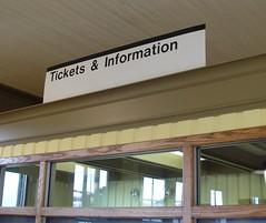 Interior Wayfinding Transit Signage