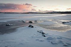 Sunday morning (Kristin Sig) Tags: morning november winter lake snow cold sunrise sunday vetur vatn frosen elliavatn