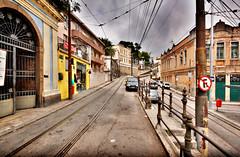 Santa Teresa, Rio de Janeiro (Bart's Dad) Tags: road santa rio de janeiro tracks tram teresa hdr