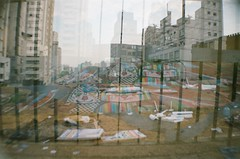 #321 ([ iany trisuzzi ]) Tags: brazil streetart film brasil analog 35mm lomo lomography doubleexposure multipleexposure sp ruaaugusta project365 365days saupaulo lasardina