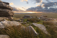A World A Part. (Ray Bradshaw.) Tags: uk cloud grass rock outdoors photography day nopeople stack balance keywords geology moor bodmin rockformation traveldestinations britishculture placeofinterest cornwallengland colourimage physicalgeography raybradshawraymondbradshawphotograthycornwalltiekiesunset raybradshawraymondbradshawphotograthycornwalltiekiesunsetrocksboulders