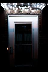 New Lights (PathToPhoto) Tags: light white evening cleveland led westpark sidedoor stringlighting