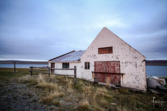 Hrtafjrur, Iceland (Foraggio Photographic) Tags: travel iceland europe empty shed oldhouse fields agriculture outhouse deserted hrtafjrur sberg