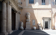 The Colossus of Constantine Courtyard