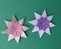 Stern ohne Namen oder Nadja 2012 - Star without  name or Nadja 2012 (Vielfaeltig2010) Tags: star origami stern weihnachtsstern christmasstar papierfalten carmensprung modularstar vielfaeltig2010 modularerstern nadja2012