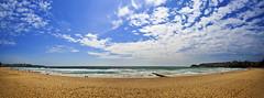 Manly Beach (opzjon) Tags: travel sea panorama beach clouds canon landscapes sand jon waves seascapes jonathan sydney australia shore newsouthwales 1740mm manlybeach northernbeach jonathangarcia opzjon