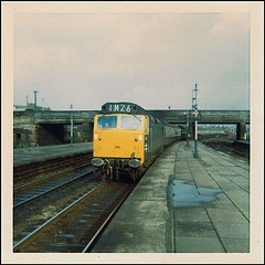 Travels With My Instamatic, Three.     1968. (Kingfisher 24) Tags: scotland class50 instamatic104 d420 stirlingstation