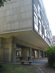 Swiss Pavilion (1) (evan.chakroff) Tags: france 1931 swiss pavilion lecorbusier corbusier 1930 evanchakroff pavillonsuisse 19301931 chakroff