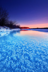 Winter Blues (Wolfhorn) Tags: winter snow cold ice nature alaska river wildernesslandscape verypeaceful