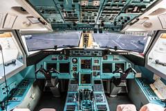 Tupolev 204 Cockpit - Air Koryo (Tom Peddle) Tags: airport air north flight beijing cockpit korea deck korean 204 peking airfield tupolev dprk koryo tu204