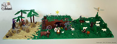 The whole thing (Viktor-Persson) Tags: animals joseph cow desert sheep lego mary jesus hills manger stable camels nativity wisemen nativityscene shepherds thebirthofjesus