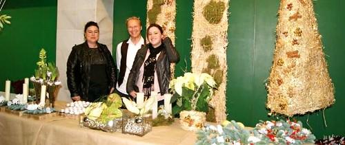 X Jornada de Flores y Plantas de Navidad 2012 en Mercamurcia con Jukka Heinonen