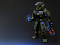 Spartan 117 (Legohaulic) Tags: lego space halo masterchief cortana