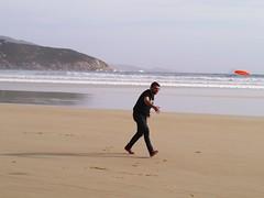 Twilight Beach Frisbee 13