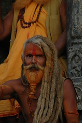 Hair (FrotasticPhotos) Tags: travel nepal dreadlocks hair asia faces kathmandu dreads swami pashupatinath sadu