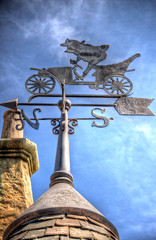 "Mr. Toad's Wild Ride Weather Vane • <a style=""font-size:0.8em;"" href=""http://www.flickr.com/photos/85864407@N08/8242981250/"" target=""_blank"">View on Flickr</a>"