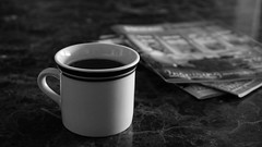 Espresso (Samer Awwad) Tags: coffee magazine table mug espresso
