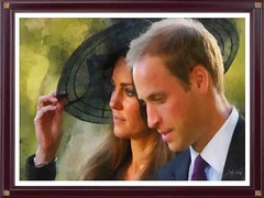 Kate & William (Peter Solano. Pursuing a dream!) Tags: british princewilliam duchesskate royalty portrait dap man woman