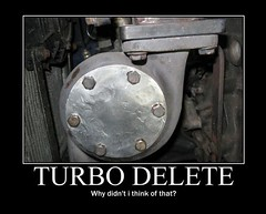 turbo delete (Buyautoparts Borgwarner) Tags: borgwarner buyautoparts