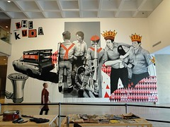 The Kuda, Collaboration with the Ruangrupa collective, QAG, Brisbane (Fintan Magee) Tags: streetart art graffiti mural asia gallery pacific contemporary goma police brisbane queensland crown triennial qag fintanmagee