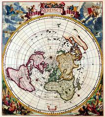 Antique Maps (divinumphoto) Tags: map c1700 antiquemapsoftheworld polarmap cornelisdankertz
