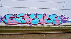 Den Haag Graffiti : Calv (Akbar Sim) Tags: holland netherlands graffiti nederland denhaag illegal thehague calv akbarsimonse akbarsim