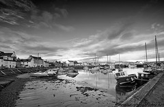 """Stonehaven Harbour B&W • <a style=""""font-size:0.8em;"""" href=""""http://www.flickr.com/photos/40272831@N07/8250401136/"""" target=""""_blank"""">View on Flickr</a>"""
