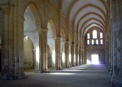 Nave and South Aisle, Abbaye de Fontenay