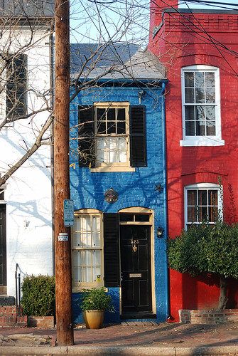 Alexandria, VA spite house by Remember To Breathe, on Flickr