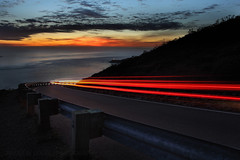 OCEANSIDE (Andrew Louie Photography) Tags: ocean bridge autumn light sun set golden gate san francisco long exposure december pacific hawk marin hill jazz headlands streaks