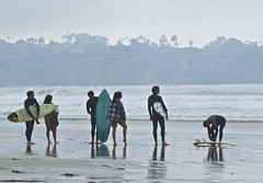 California surfers (mar-itz) Tags: california surf waves young lajolla surfing surfboard surfers theshores