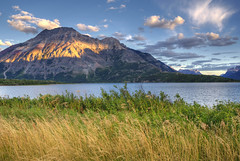 Illumined (dbushue) Tags: light sunset lake mountains nature landscape evening nikon albertacanada 2012 coth watertonlakesnationalpark supershot absolutelystunningscapes d7000 damniwishidtakenthat coth5 dailynaturetnc12