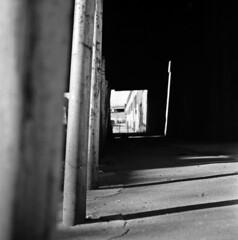 (andre dos santos) Tags: new york city nyc newyorkcity newyork 120 6x6 tlr film rollei rolleiflex zeiss port square lens reflex bronx twin s retro negative 80s squareformat medium format morris thebronx 80 35e planar 75mm portmorris rolleiretro80s