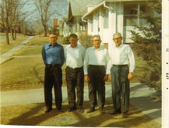 Cecil, Roy, Mac and William Wolfe