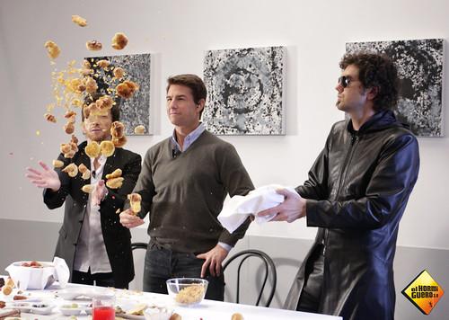 Tom Cruise vino a divertirse a El Hormiguero