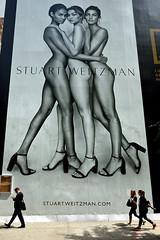Fifth Avenue Legs (Eddie C3) Tags: newyorkcity fifthavenue billboards streetscenes