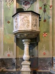 Il pulpito della Piet (M a r i S ) Tags: cervo liguria italy chiesadisangiovannibattista chiesadeicorallini pulpit interior