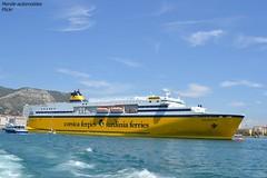 Corsica Ferries (Monde-Auto Passion Photos) Tags: bateau boat paquebot croisire corsica ferries jaune france toulon