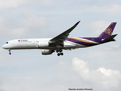 Thai Airways International. First Airbus A350 For Thai Company. (Jacques PANAS) Tags: thai airways international airbus a350941 hsthb fwzgq msn044