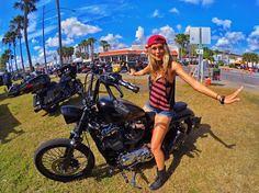 Real Biker Women bea (BikerKarl2013) Tags: real biker women bea badass motorcycle helmet store stuff motorcycles